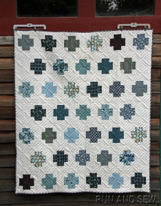 My inspiration by Run and Sew Quilts - posted with permission